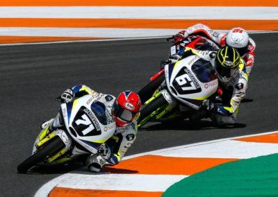 Rossi Valencia race