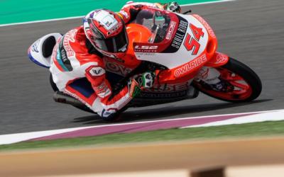 Riccardo Rossi a Portimao per la stagione europea della classe moto3