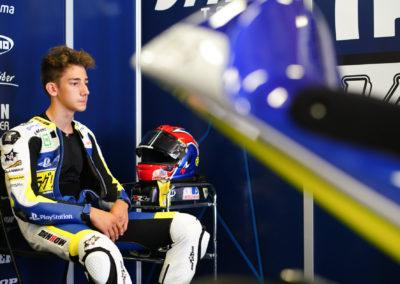 Riccardo Rossi 71 - Barcellona Moto 3 Box