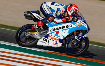 #ValenciaGP: Rossi cade in Q2
