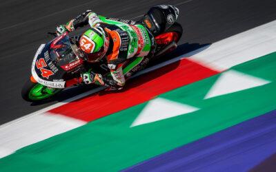 Termina in posizione 21 Riccardo Rossi a Misano.