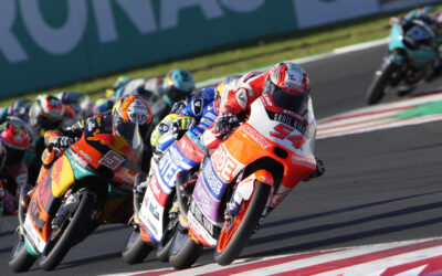 Rossi out a Misano